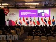 Ouverture de la conférence des ministres de l'Economie de l'ASEAN