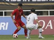 ASIAD 2018: le Vietnam battu 3-1 par la République de Corée en demi-finale des