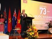 La Fête nationale célébrée en Australie, au Japon et au Laos