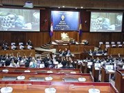 Cambodge : la nouvelle Assemblée nationale tient sa première session