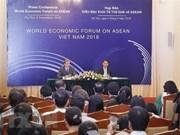 Conférence de presse sur le Forum économique mondial sur l'ASEAN
