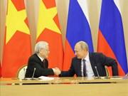 Le partenariat Vietnam-Russie n'a cessé d'être consolidé et développé