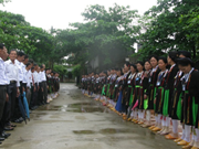 Soong Cô, le chant des San Diu, donne de la voix