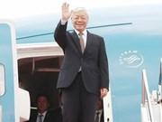 Le leader du PCV remercie le président russe, quitte Moscou pour Budapest