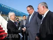 Le leader du PCV entame sa visite officielle en Hongrie