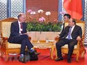 WEF ASEAN 2018 : le PM reçoit le directeur général de Carlsberg