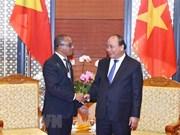 WEF ASEAN 2018 : le PM reçoit le ministre des Affaires étrangères et de la Coopération du Timor-Est