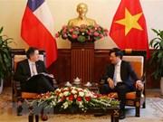WEF ASEAN 2018 : le vice-PM Pham Binh Minh reçoit des invités étrangers
