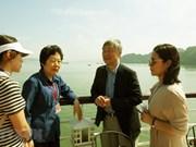 Une délégation de participants à  l'ASOSAI 14 visite Quang Ninh