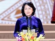Dang Thi Ngoc Thinh assume la position de président p .i du Vietnam