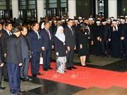 Environ 50.000 Vietnamiens et étrangers rendent hommage au président Tran Dai Quang