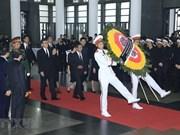 Décès du président Tran Dai Quang : des messages de condoléances au Vietnam