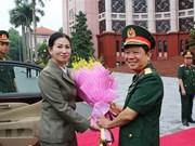 Vietnam-Cambodge : les femmes des deux armées cultivent leurs liens