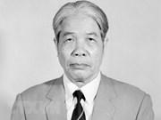 Décès de l'ancien secrétaire général Do Muoi : Condoléances des dirigeants chinois, laotiens