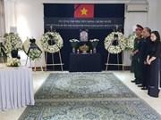 A l'étranger, hommage à l'ancien secrétaire général Dô Muoi
