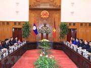 Le PM laotien souligne les contributions de l'ancien secrétaire Do Muoi aux relations bilatérales