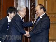 Le PM Nguyen Xuan Phuc rencontre les présidents de la Chambre des représentants et du Sénat du Japon