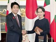 Le Japon apprécie les efforts de réforme et de stabilisation du Myanmar