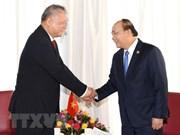 Le PM Nguyen Xuan Phuc reçoit le président de la compagnie indonésienne Nikko
