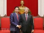 Des dirigeants vietnamiens plaident pour les liens accrus avec Vientiane