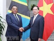 Le Vietnam souhaite cultiver les relations de coopération avec la Tanzanie