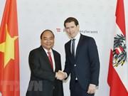 Vietnam-Autriche : entretien entre le PM Nguyên Xuân Phuc et le chancelier Sebastian Kurz