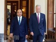 Le PM Nguyên Xuân Phuc rencontre le roi des Belges Philippe