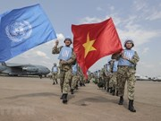 Les casques bleus vietnamiens au Soudan du Sud font les titres internationaux