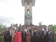 Le 11ème monument de l'amitié Vietnam-Cambodge est inauguré au Cambodge