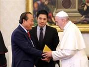 Le vice-PM Truong Hoa Binh rencontre les dirigeants du Vatican