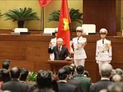 Félicitations des dirigeants indiens au président du Vietnam Nguyen Phu Trong