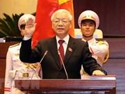 Félicitations au nouveau président Nguyên Phu Trong