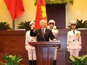 Des dirigeants étrangers félicitent le nouveau président Nguyên Phu Trong