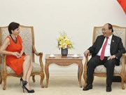 Le PM Nguyên Xuân Phuc reçoit l'ambassadrice d'Italie