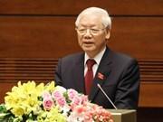 Félicitations au président Nguyen Phu Trong