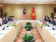 Renforcement des relations entre le Vietnam et la Malaisie