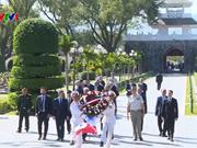 Le Premier ministre français Édouard Philippe à Diên Biên Phu