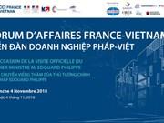 Forum d'affaires France-Vietnam à Ho Chi Minh-Ville