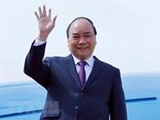 Le PM arrive à Shanghai pour participer à la foire CIIE 2018