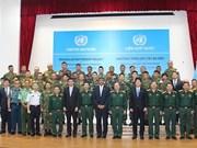 ONU: Le Vietnam organise un cours de formation de sapeurs