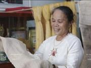 L'artisane Phan Thi Thuân, du lotus à la soie