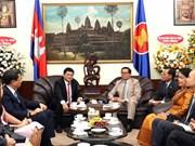 Hô Chi Minh-Ville s'engage à muscler les liens Vietnam-Cambodge