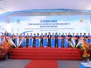 Inauguration d'un complexe de transformation de viande porcine pour l'exportation à Nam Dinh