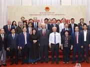 Rencontre du groupe parlementaire d'amitié Vietnam-Russie à Hanoi
