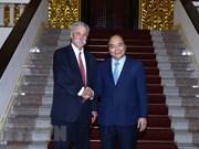 Le Premier ministre rencontre le chef du Groupe Formula One
