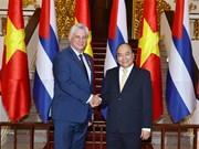 Le PM reçoit le dirigeant cubain Miguel Díaz-Canel Bermúdez
