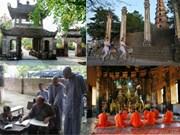 Nicolas Cornet célèbre les pagodes vietnamiennes et leur lumière