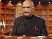 Le président indien Ram Nath Kovind effectuera une visite d'Etat au Vietnam