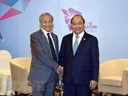Renforcement des relations avec le Brunei et la Malaisie