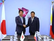 Manille et Tokyo s'engagent à maintenir la liberté de navigation en Mer Orientale
